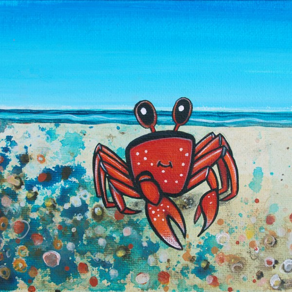 FIDLER-CRAB by Marnie Jay