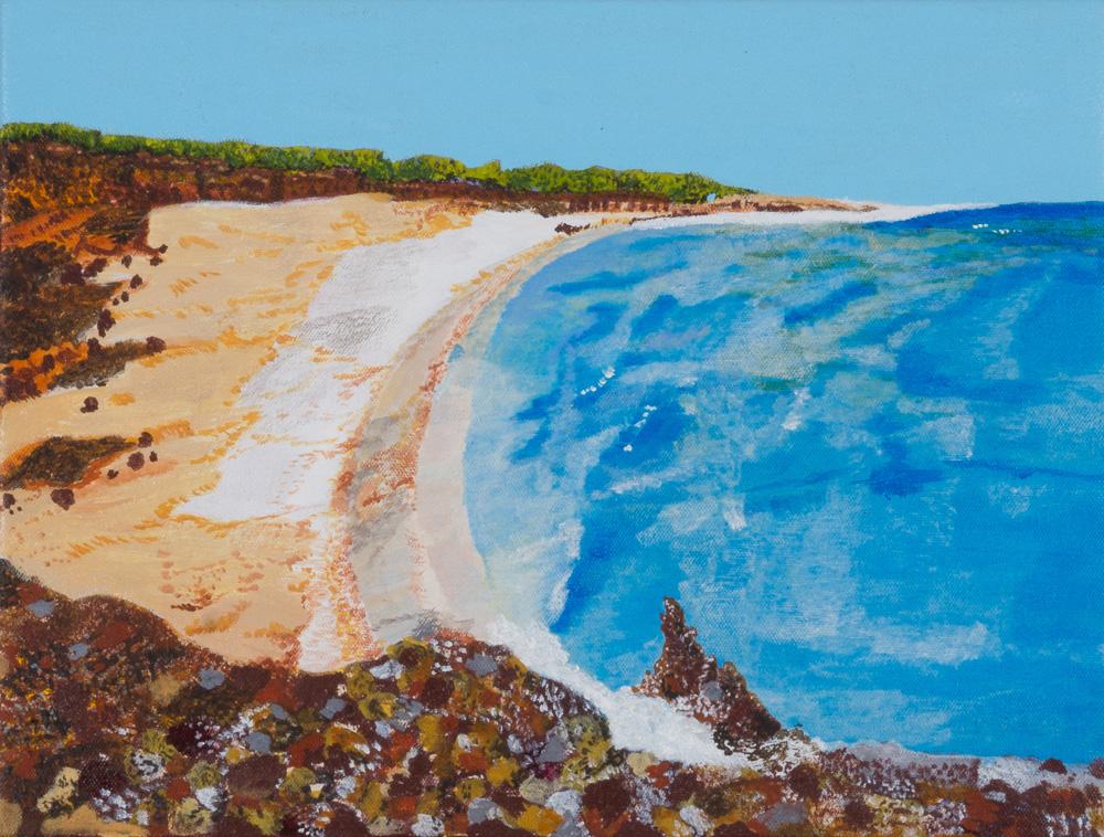 Oyster Rocks along the beach (17-867)