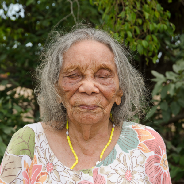 Aunty Nancy Gibbs (née Croft) I, Kahlin Aboriginal Compound site, 1913 – 1939, Myilly Point, 6 November 2014