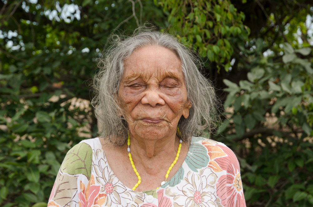 Aunty Nancy Gibbs (née Croft) I, Kahlin Aboriginal Compound site, 1913 – 1939, Myilly Point, 6 November 2014