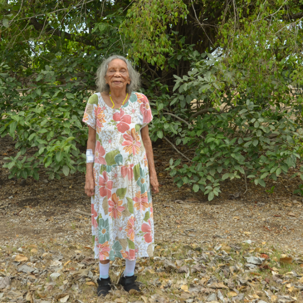 Aunty Nancy Gibbs (née Croft) II, Kahlin Aboriginal Compound site, 1913 – 1939, Myilly Point, 6 November 2014