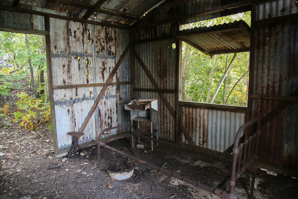 Channel Island Leprosarium site, 1931 – 1955, #2 (hut internal), 7 April 2015