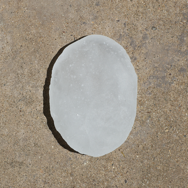 White hammer axe (after Gurindji hammer stone axe from Bore 17), 2017 (front)