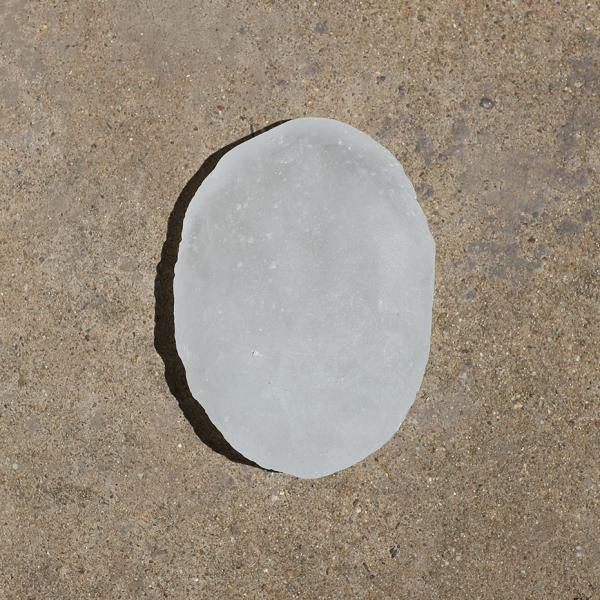 White hammer axe (after Gurindji hammer stone axe from Bore 17), 2017 (back)