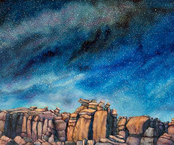 Stone Country - Night Sky