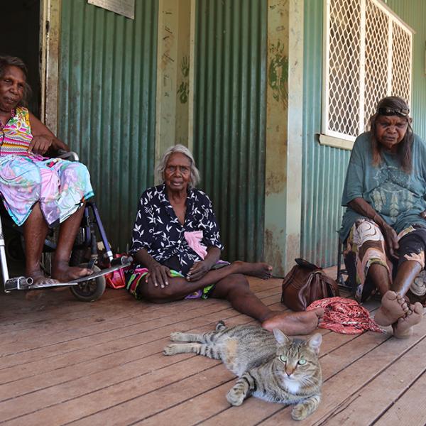 Senior Women's Community House, Yarralin, near Victoria River Downs, 1 April 2015