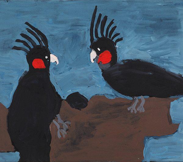 Black Cockatoo's (19-531)