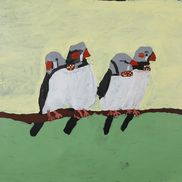 Finches Hanging Out (20-693)